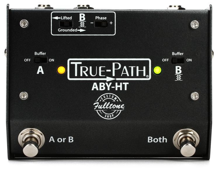 Fulltone Custom Shop True-Path ABY - True-Path ABY, Black image 1