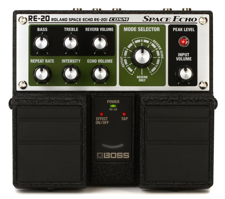 Boss RE-20 Space Echo Pedal image 1