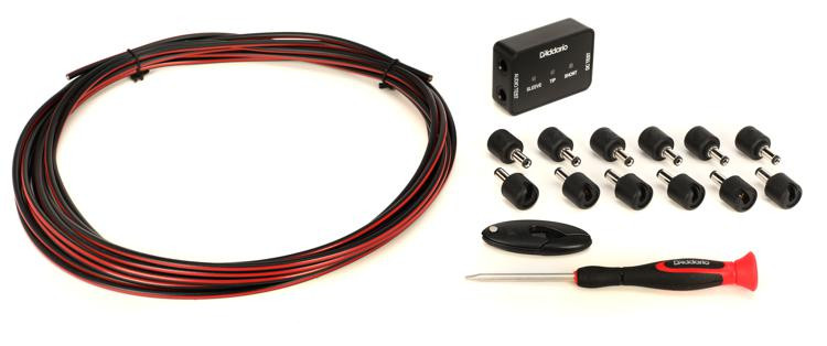 d 39 addario diy solderless pedalboard power cable kit sweetwater. Black Bedroom Furniture Sets. Home Design Ideas