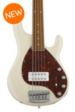Ernie Ball Music Man StingRay 5 H - Trans Buttercream, Maple Fingerboard
