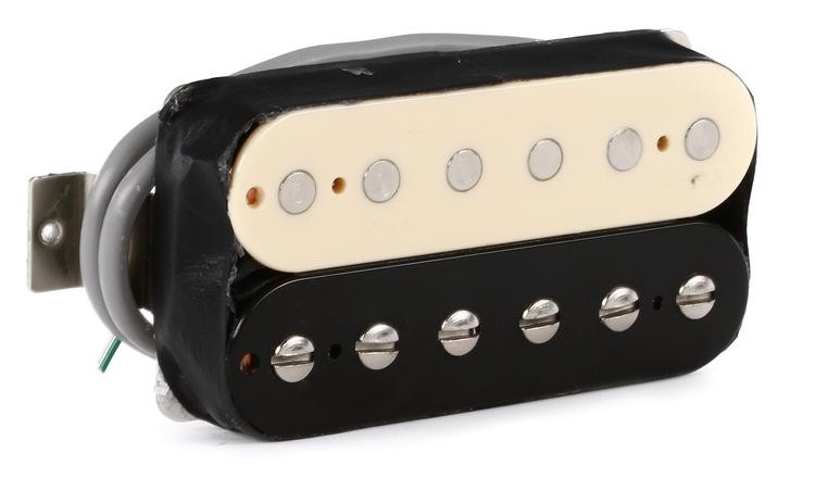 Gibson Accessories 490T Modern Classic Pickup - Bridge, Zebra image 1