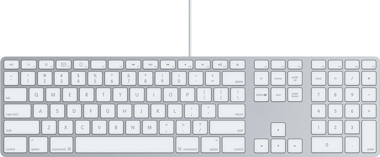 Apple Keyboard with Numeric Keypad image 1