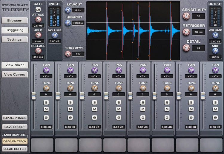 Steven Slate Drums Trigger 2 Platinum Drum Replacement Plug-in (boxed) image 1