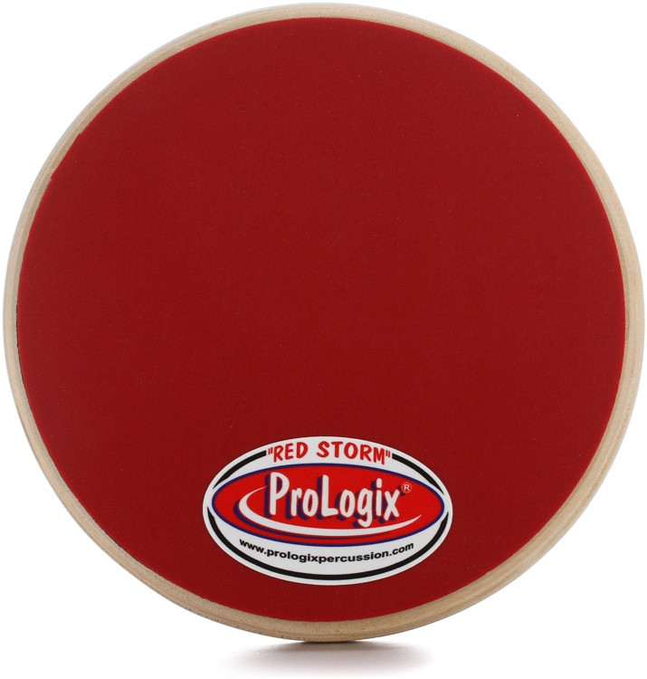 Prologix Percussion Red Storm Practice Pad - 6