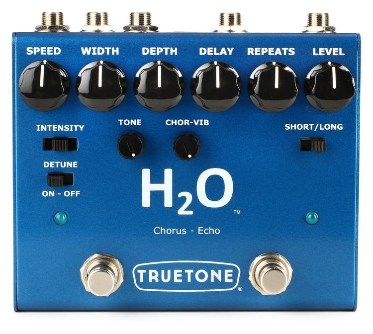 Truetone H20 Chorus and Echo Dual Effect Pedal image 1