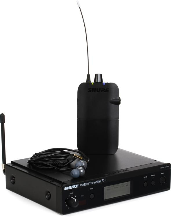 shure p3tr112gr wireless in ear monitor system h20 band sweetwater. Black Bedroom Furniture Sets. Home Design Ideas