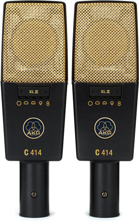 AKG C414 XLII/ST Matched Pair image 1
