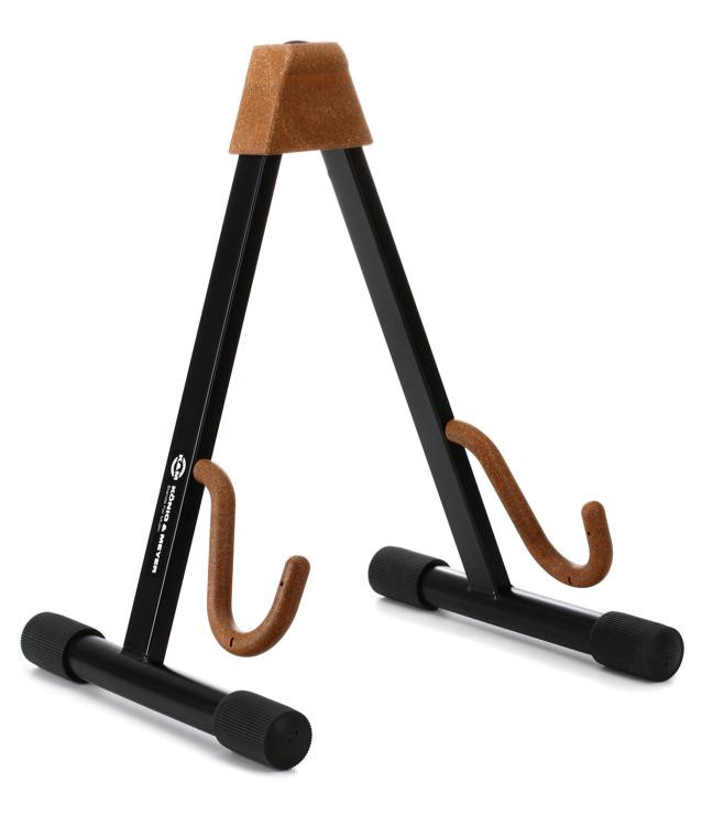K&M 17540 Electric Guitar Stand - Cork image 1