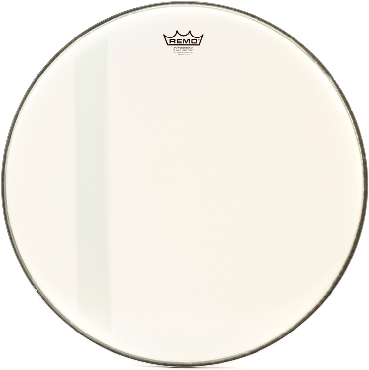 remo powerstroke 3 felt tone bass drum head 22 hazy sweetwater. Black Bedroom Furniture Sets. Home Design Ideas