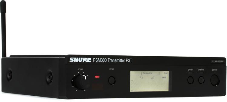 Shure P3T Wireless Monitor Transmitter - J13 Band image 1