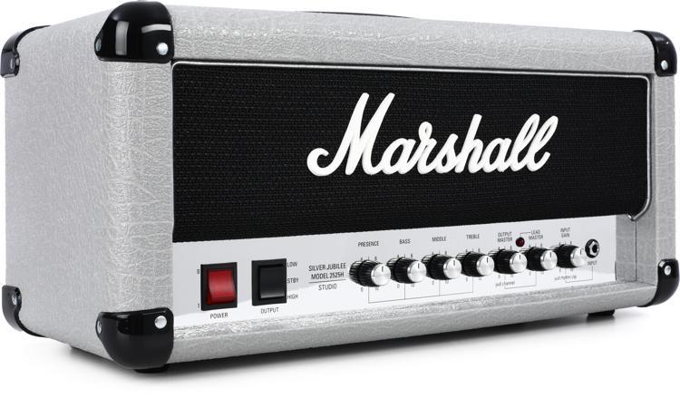 Marshall 2525H Mini Silver Jubilee 20/5-watt Tube Head image 1
