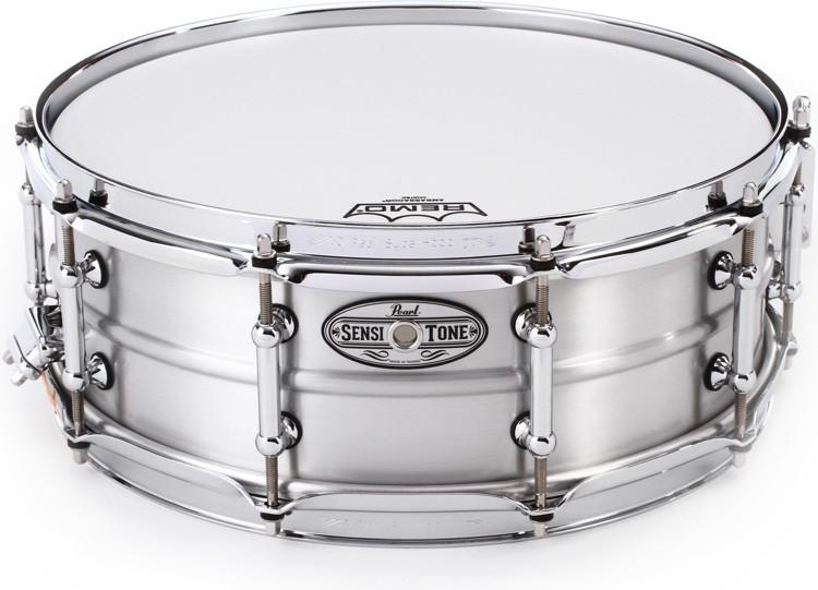 Pearl Sensitone Aluminum Snare Drum - 5