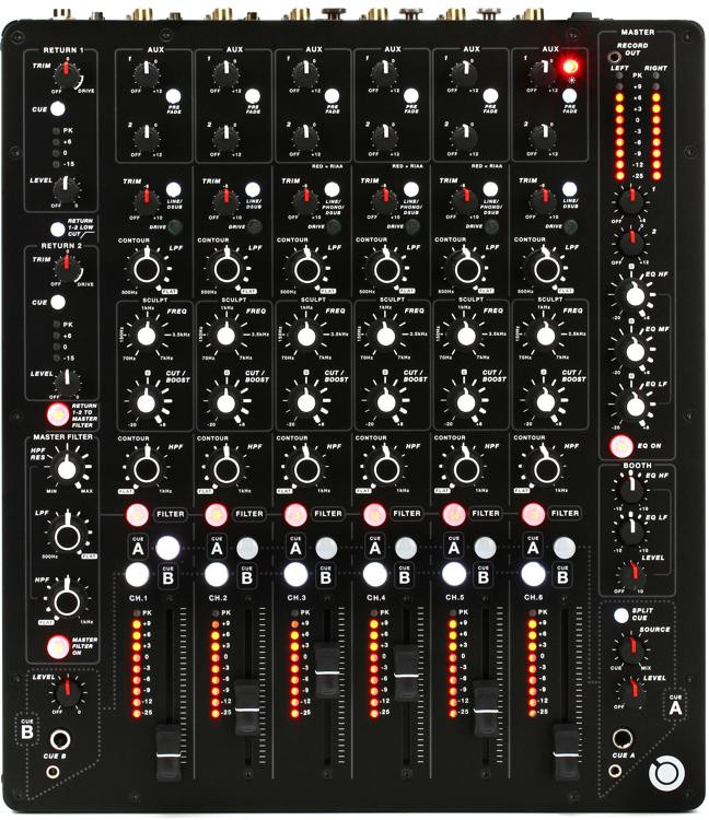 allen heath playdifferently model 1 dj mixer sweetwater. Black Bedroom Furniture Sets. Home Design Ideas