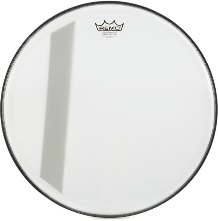 remo powerstroke 3 felt tone bass drumhead 18 hazy sweetwater. Black Bedroom Furniture Sets. Home Design Ideas