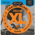 D'Addario EXP110 Coated Nickel Plated Steel Light Electric Strings
