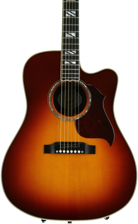 Gibson Acoustic Songwriter Cutaway Progressive - Autumn Burst image 1