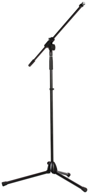 K Amp M Microphone Stand W Fixed Boom Arm Black Sweetwater