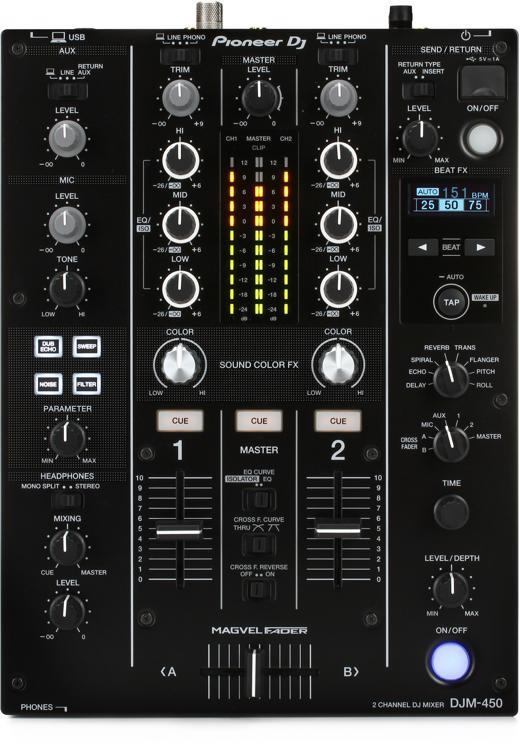 DJM-450 2-channel DJ Mixer