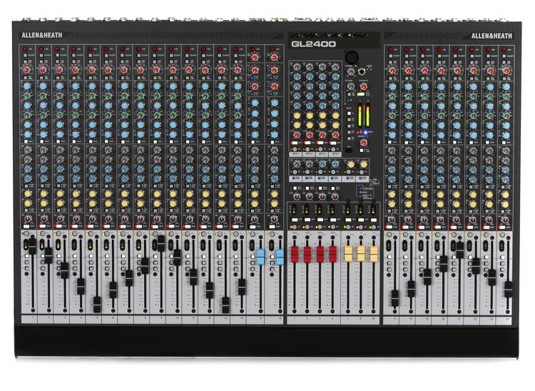 Allen & Heath GL2400-24 Dual-function Live Mixer image 1
