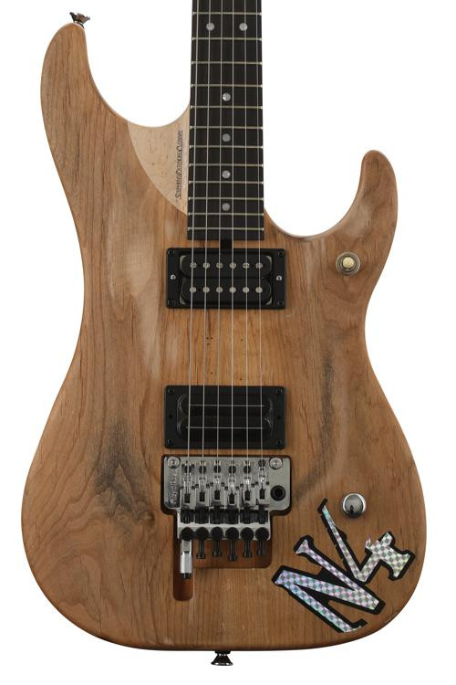 Washburn Nuno Bettencourt N4 Authentic Signature - Natural Matte image 1