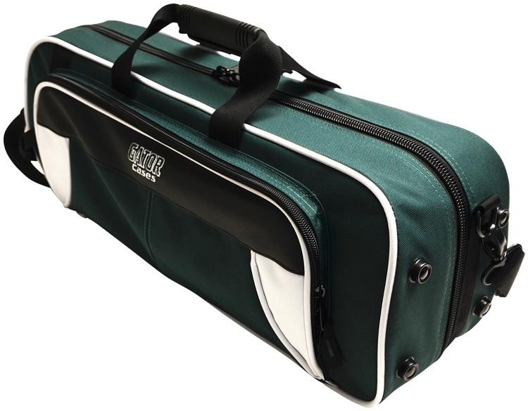 Gator GL-TRUMPET-WG - Lightweight Trumpet Case, White & Green image 1