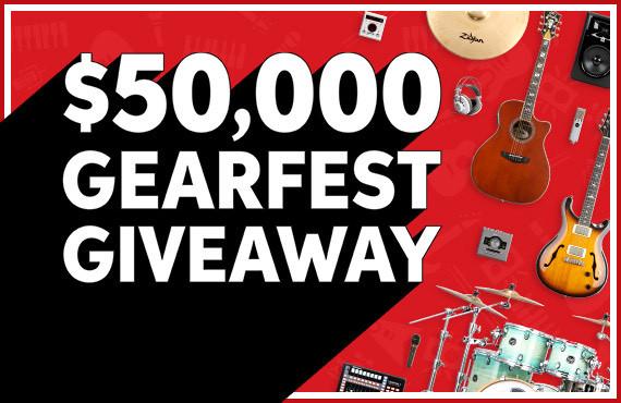 $50,000 GearFest Gear Giveaway