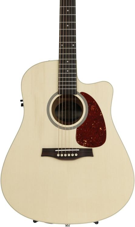 Seagull Guitars Entourage Natural Spruce CW QIT - Natural image 1
