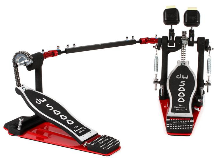 dw 5000 series accelerator double bass drum pedal sweetwater. Black Bedroom Furniture Sets. Home Design Ideas