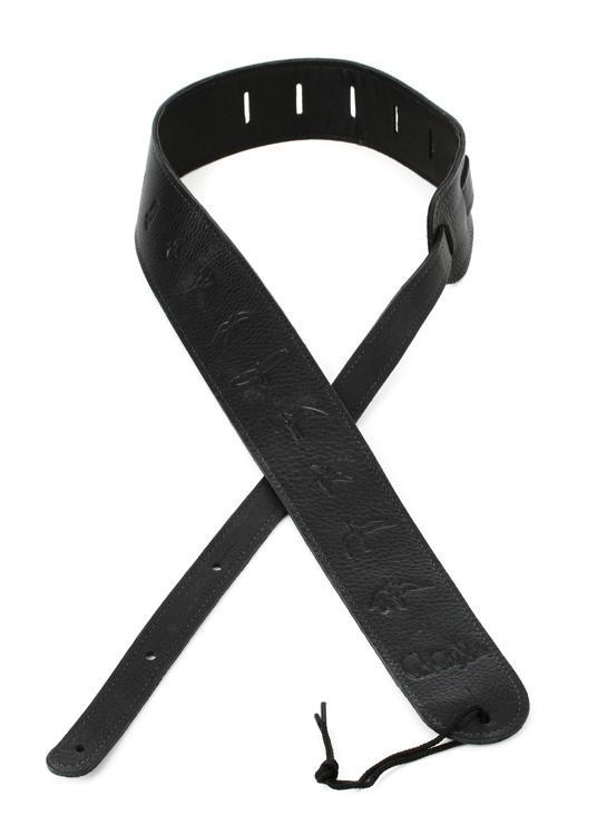 PRS Leather Bird Strap - Black image 1