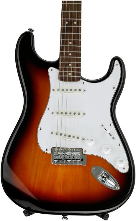 Squier Vintage Modified Stratocaster - 3-tone Sunburst image 1