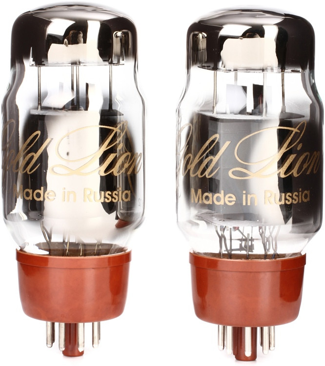 Genalex Gold Lion KT66 Power Tubes - Matched Duet image 1