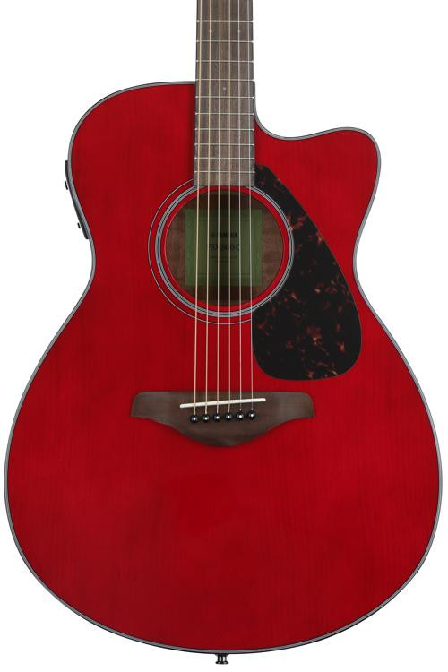 Yamaha FSX800C - Ruby Red image 1