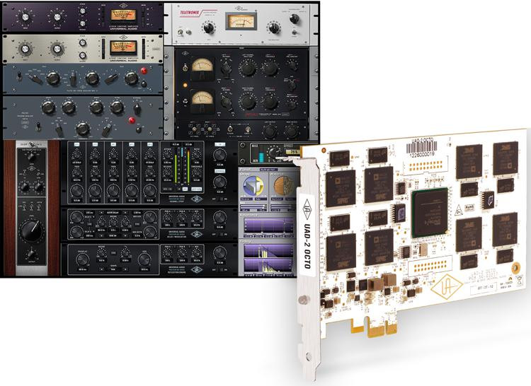 universal audio uad 2 octo core pcie dsp accelerator sweetwater. Black Bedroom Furniture Sets. Home Design Ideas