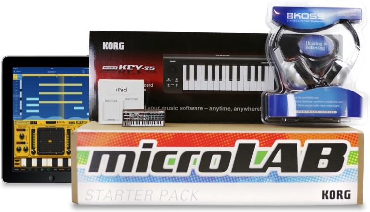 Korg microLAB iPad School Music Lab Bundle image 1