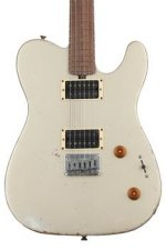 Friedman Vintage T with Humbuckers and Alder Body - Shoreline Gold with Rosewood Fingerboard