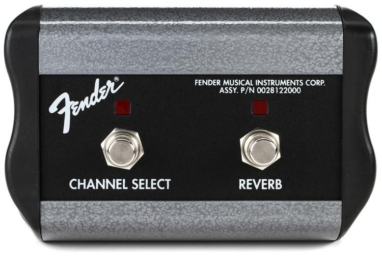 Fender 0994056000 2-Button Channel/Reverb Footswitch image 1