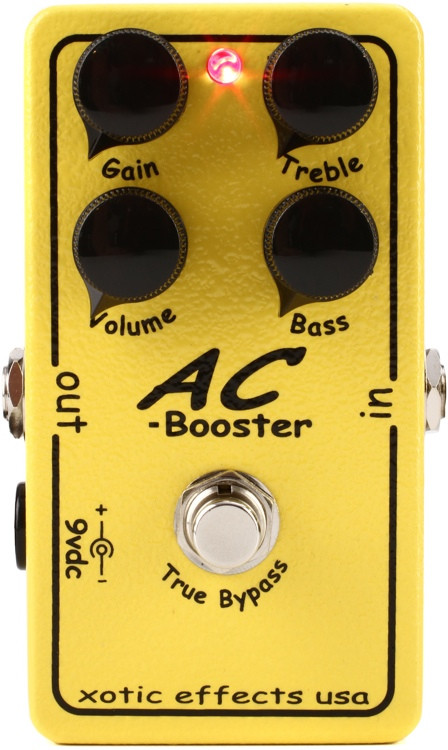 Xotic Ac Booster : xotic ac booster pedal sweetwater ~ Russianpoet.info Haus und Dekorationen