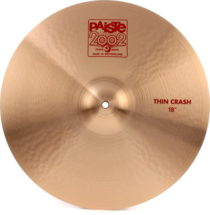 Paiste 2002 Thin Crash - 18