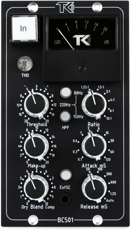 TK Audio BC501 Stereo Bus Compressor image 1