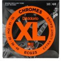 D'Addario ECG23 Chromes Flatwound Extra Light Electric Strings