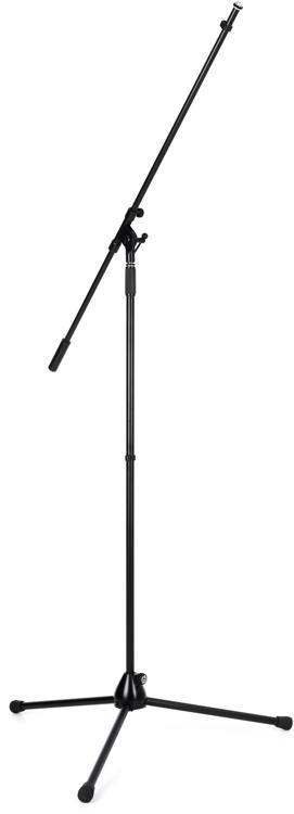 Tall Mic Stand : k m 21021 extra tall boom microphone stand black sweetwater ~ Vivirlamusica.com Haus und Dekorationen