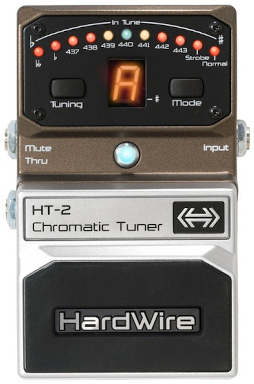 hardwire ht 2 chromatic tuner sweetwater. Black Bedroom Furniture Sets. Home Design Ideas
