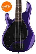 Ernie Ball Music Man Stingray 5 H Left-Handed - Firemist Purple, Rosewood Fingerboard