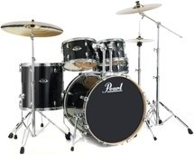 Pearl Export EXL 5-piece Drum Set with Hardware - Black Smoke