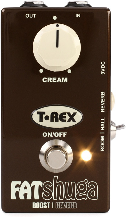 T-Rex Fat Shuga Overdrive with Reverb Pedal image 1