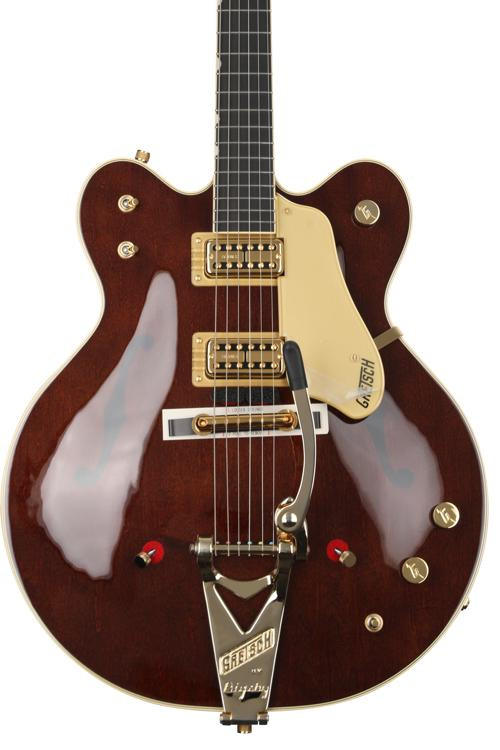 Gretsch G6122T-62GE Vintage Select Country Gentleman - Walnut Stain, Bigsby image 1