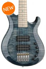 PRS Gary Grainger 5-string Bass - Faded Whale Blue with Maple Fingerboard