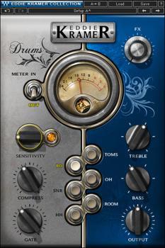 Waves Eddie Kramer Drum Channel Plug-in image 1