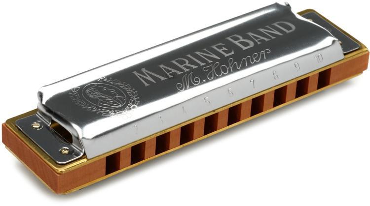Hohner Marine Band - Key of E Flat image 1