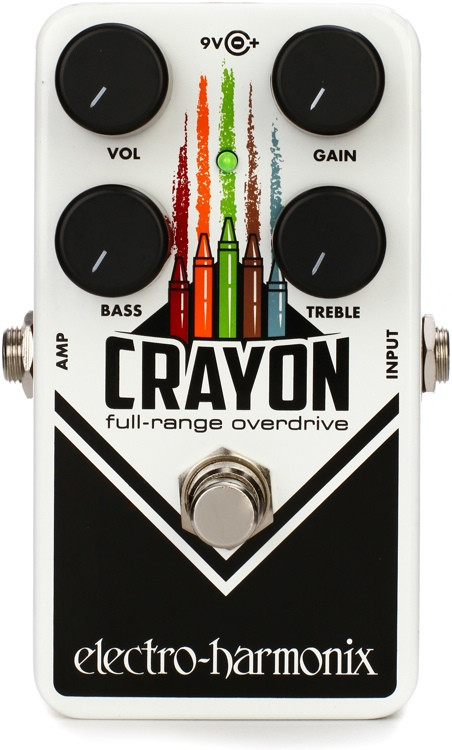 Electro-Harmonix Crayon 69 Full-range Overdrive Pedal image 1